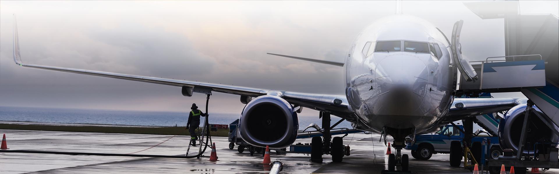 Kerosene And Jet Fuel Purification Aviation Filters Cla Refueling Plane Header