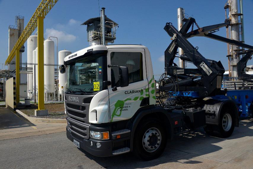 Scania trucks use second generation ethanol manufactured
