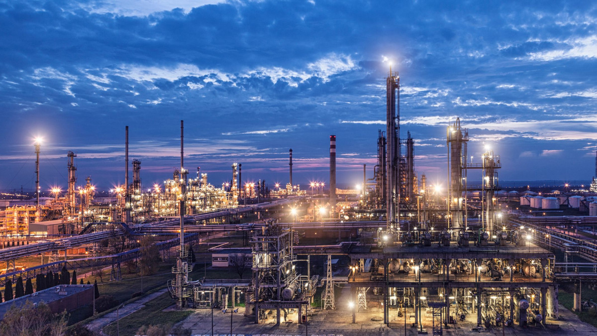 MOL Group's Danube refinery near Budapest where the company's maleic anhydride production plant is...