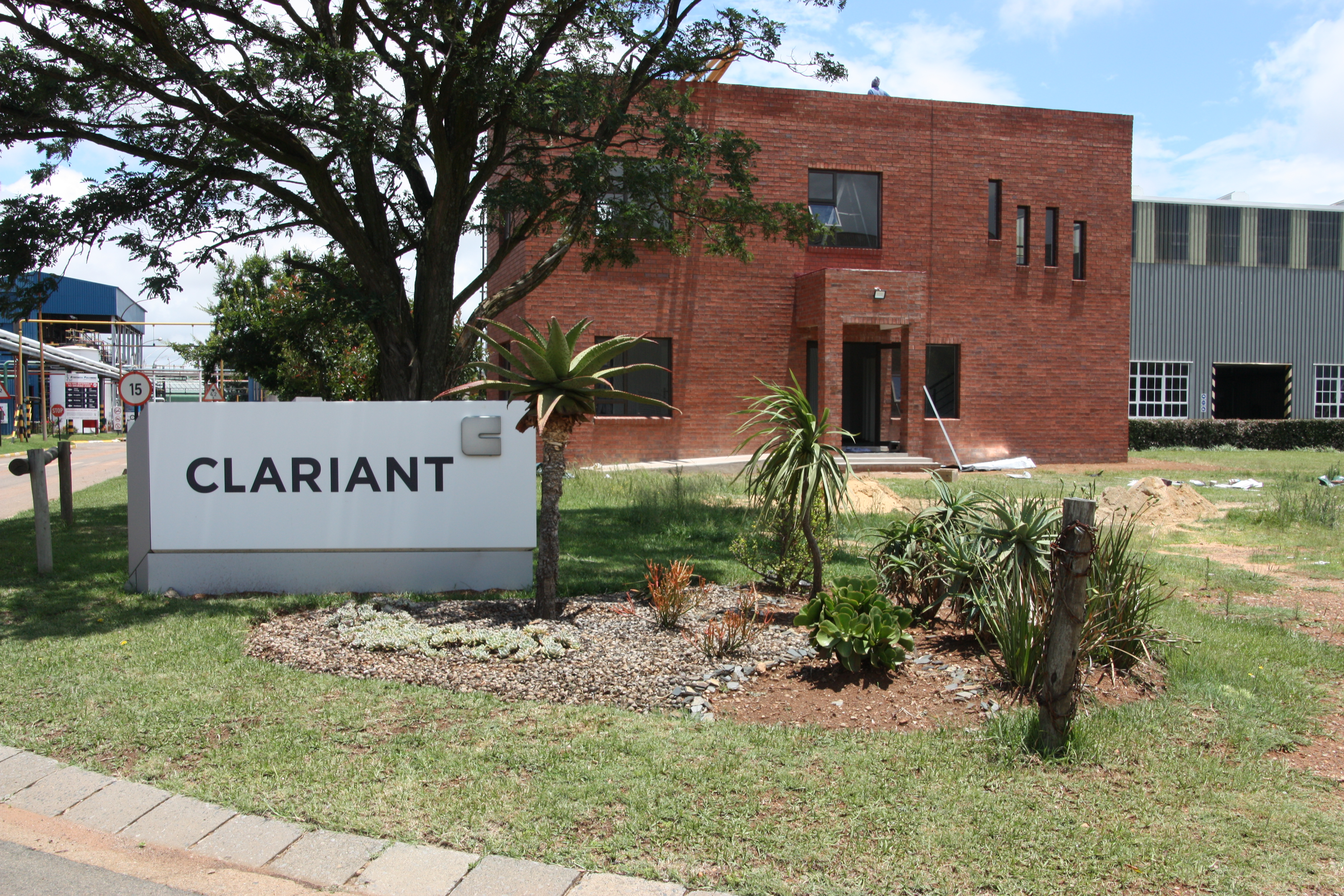 Clariant's new laboratory in Krugersdorp, South Africa. 