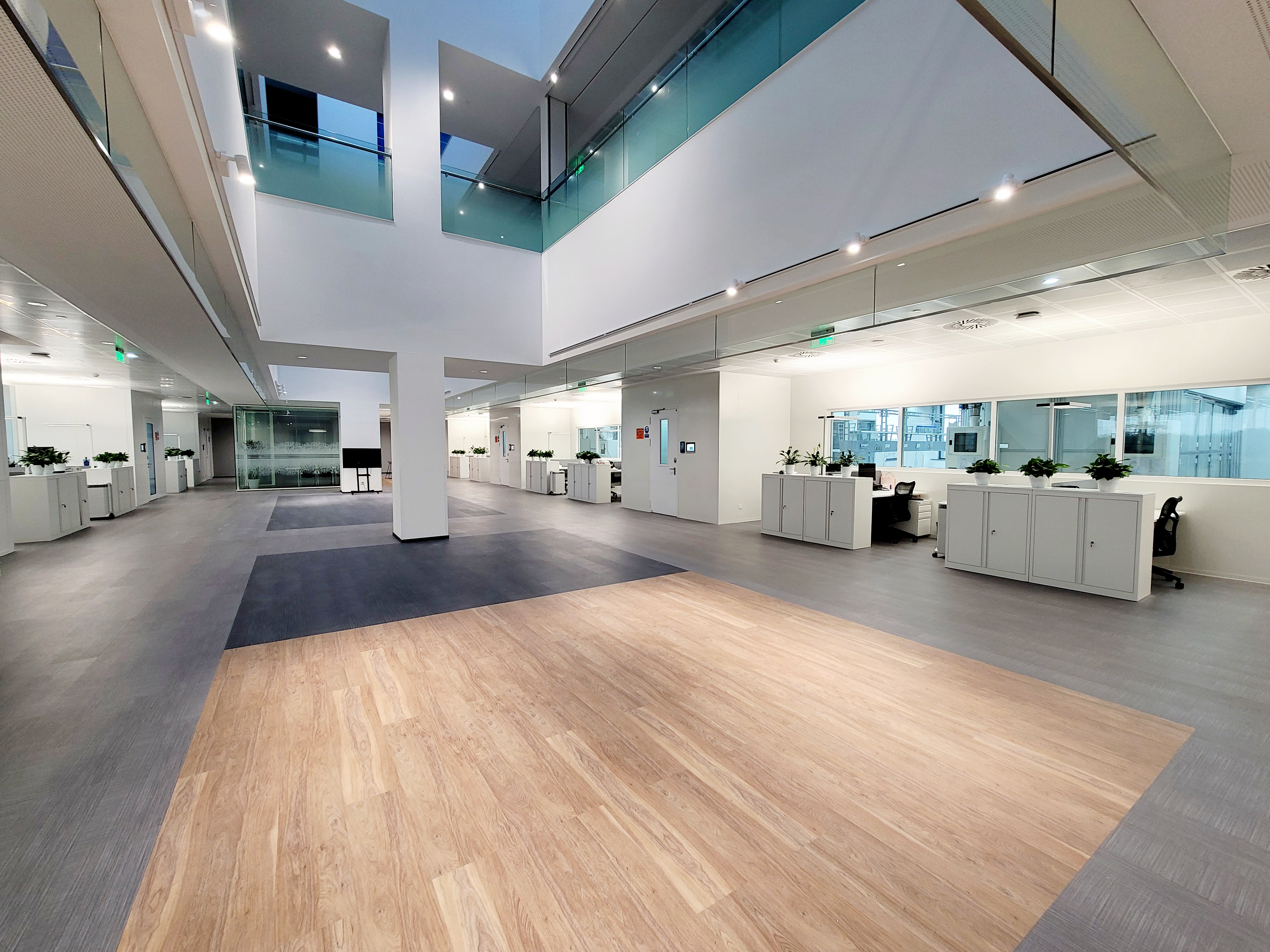 "Clariant's state-of-the-art catalyst R&D center in the new ""One Clariant Campus"" building in Shang..."
