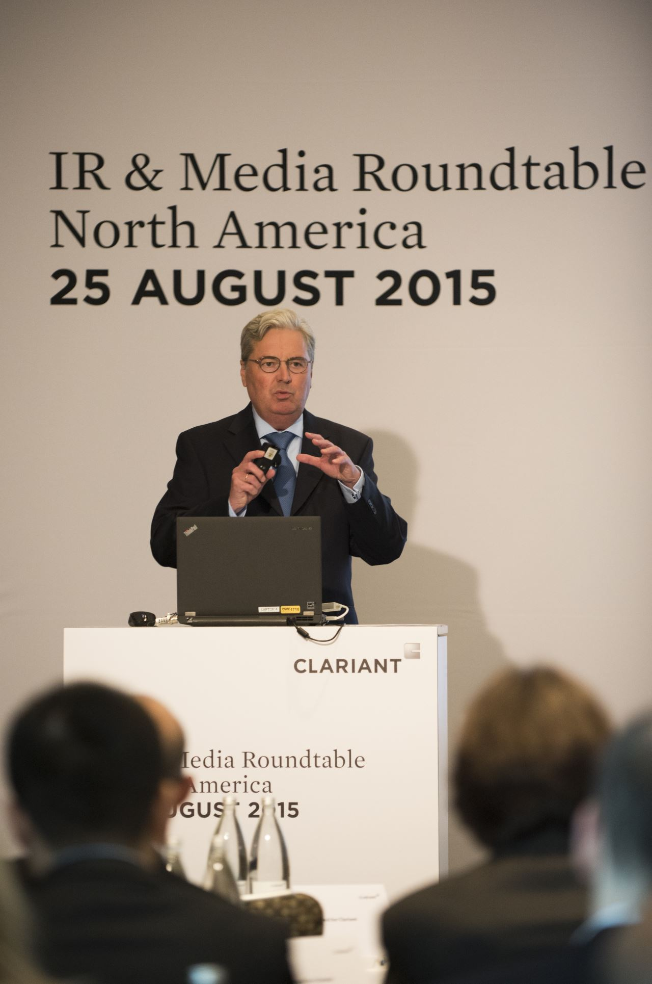 CEO Hariolf Kottmann highlights the importance of the North American region <br>