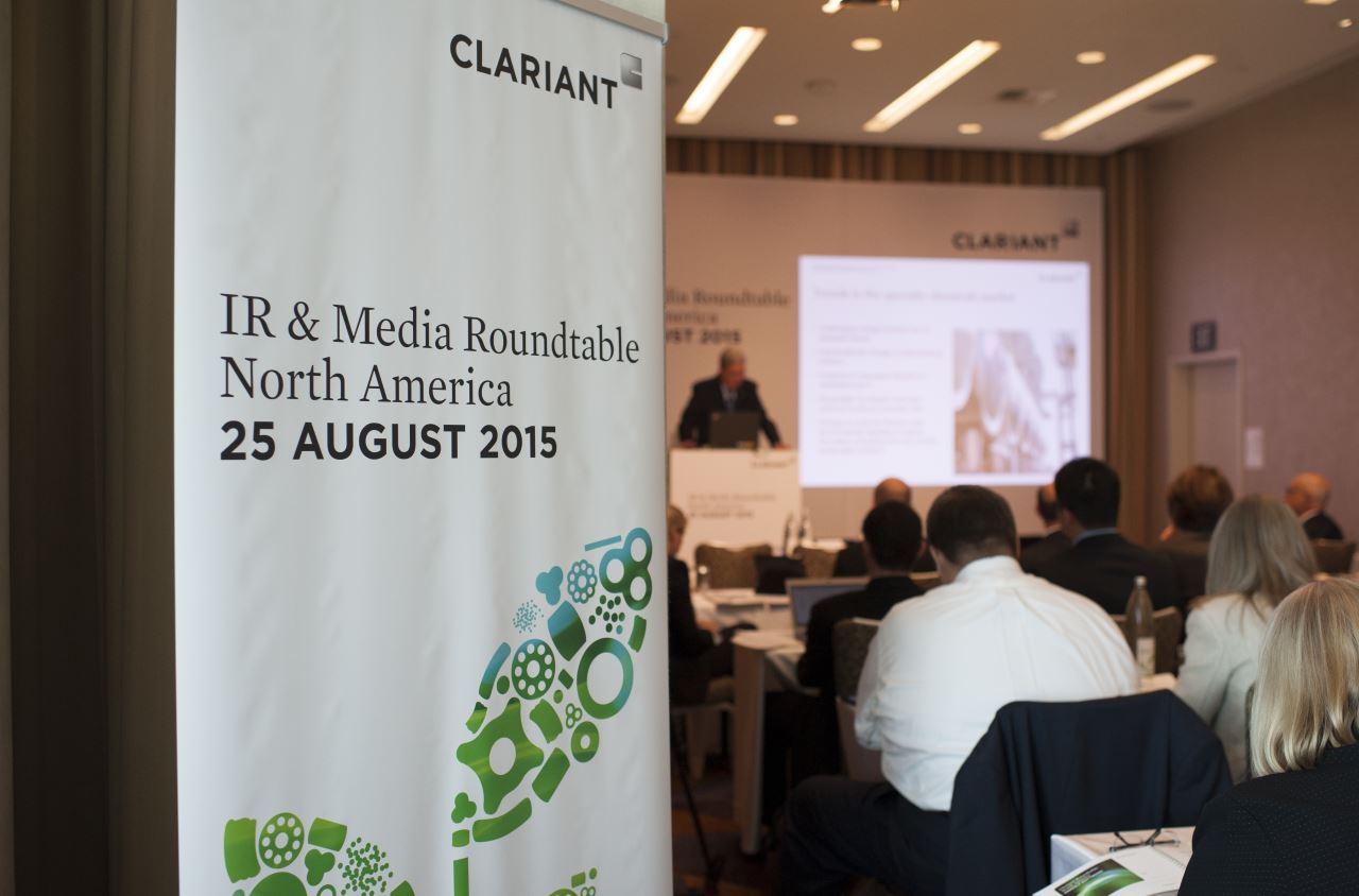Trends in the specialty chemicals discussed at Clariant`s roundtable event <br>