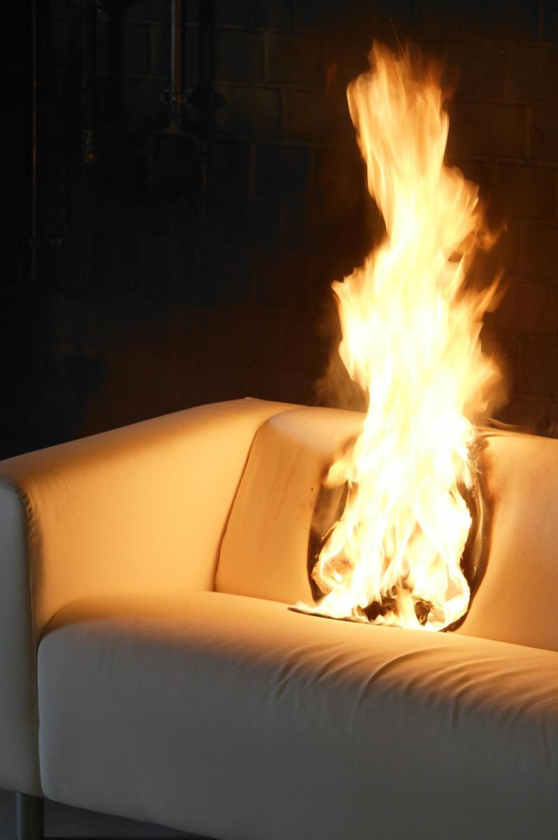 Exolit  174  OP 560 is not only halogen free but becomes an integral part of the PU foam  creating possibilities to produce flexible foams with locked in fire protection without the environmental and health concerns of traditional flame retardants  Photo  Clariant