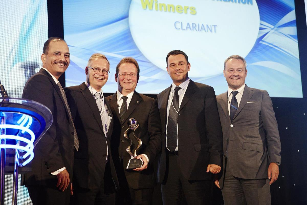Clariant receives the Unilever Partner to Win Award in the category quotJoint Value CreationquotPhoto Clariant