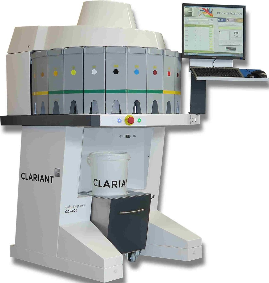 Sales Of Chemicals Contact Eu Federation Email Mail: Clariant Launches New 24-canister Dispenser Machine CD2406