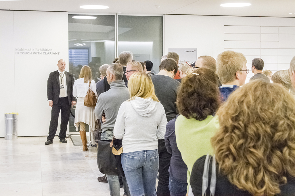 On November 2, 2013, over 1,700 guests – Clariant employees and their families – spent the day at the new Clariant Innovation Center. A diverse program of activities made it an experience to remember.