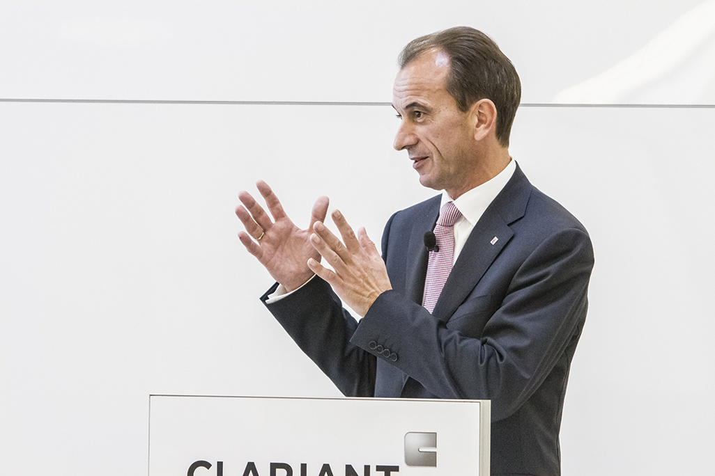 Michael Boddenberg, State Minister of Hesse for Federal Government Affairs and Representative for Hesse at German Government Level, underlined the importance of the new Clariant Innovation Center for Hesse as attractive business location.